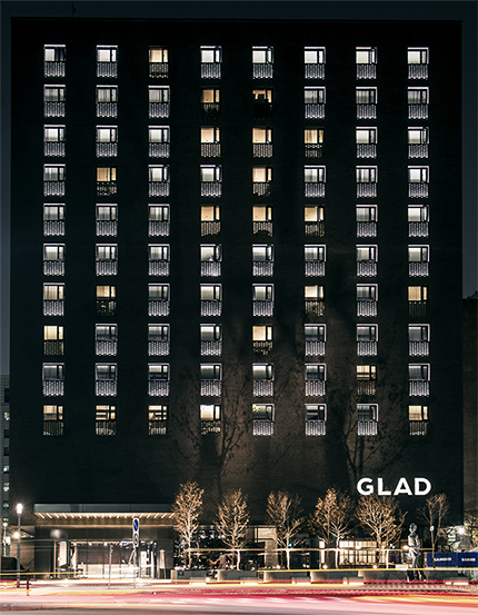 GLAD 호텔 전면